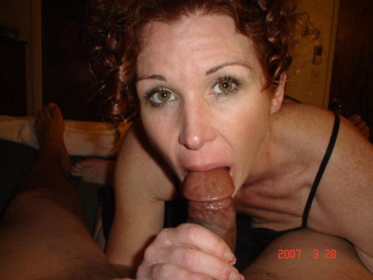 Grosse bite en femme rousse