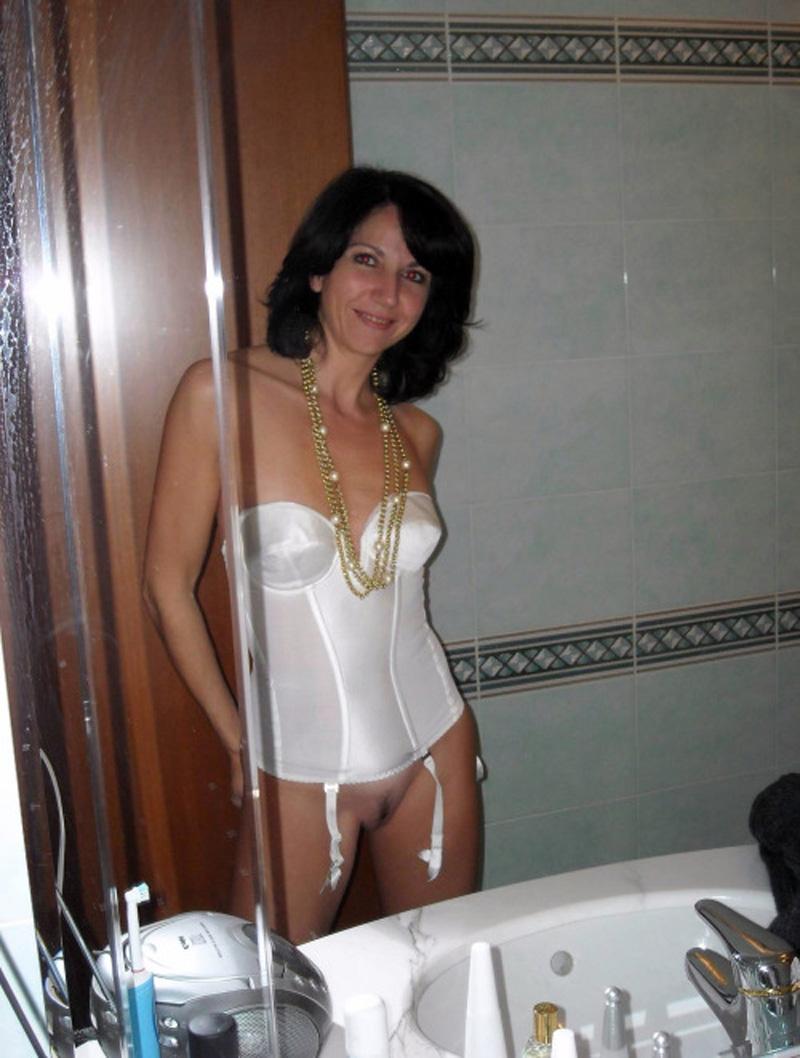 image Brunette wife jocelyne black takes big black cock up her ass