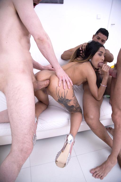 Roxy Manouche dp anal 3