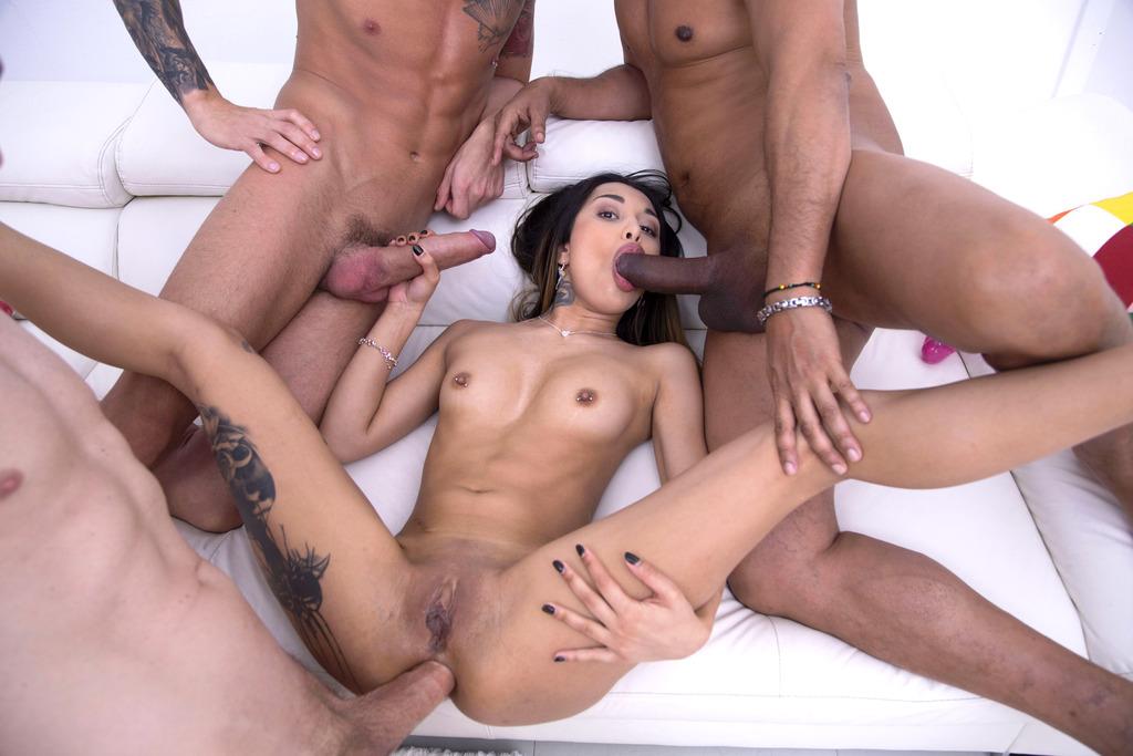 Roxy Manouche dp anal 6