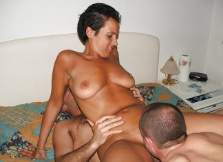 Threesome Armelle, salope chienne 23