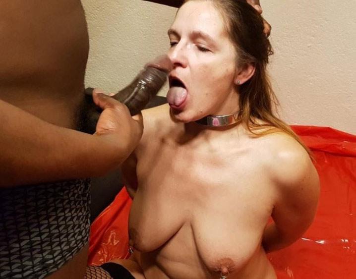 Marie-France chienne soumise à un black 18