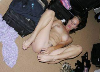 Pattie libertine américaine masturbation gode 5