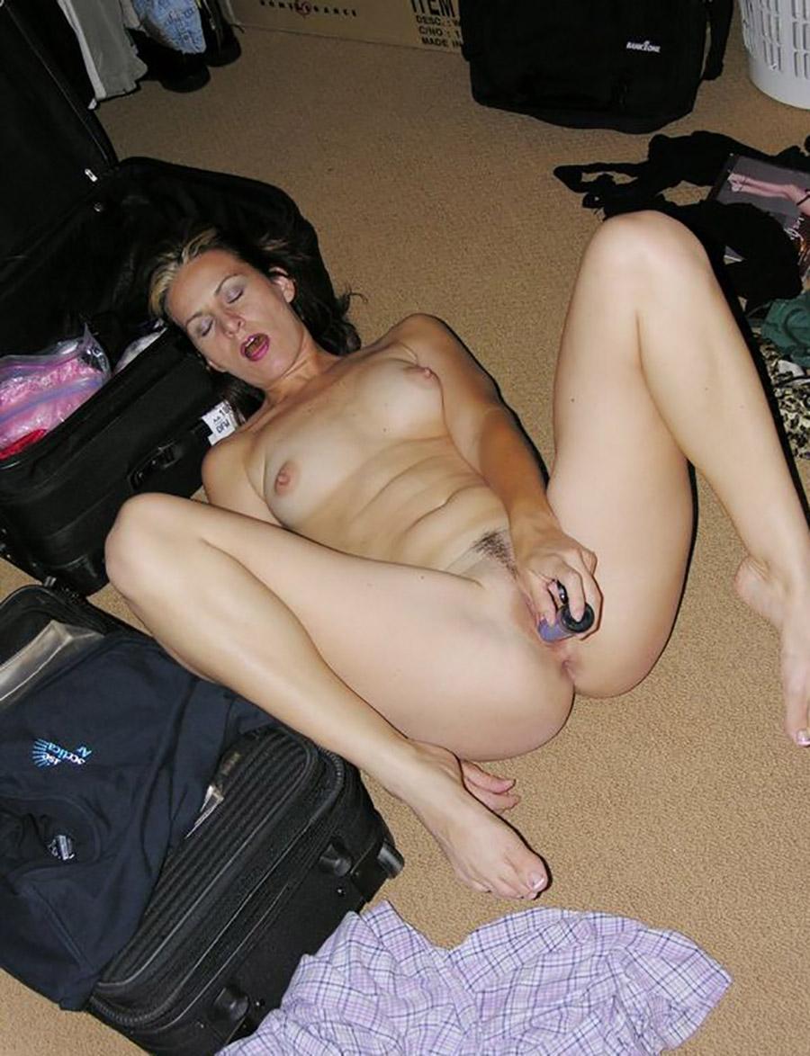 Pattie libertine américaine masturbation gode 6